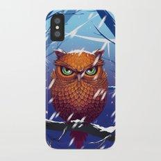 Winter Owl Slim Case iPhone X