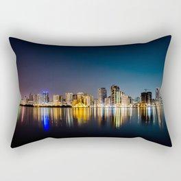 Sharjah, Emirates 01 - World Big City Rectangular Pillow