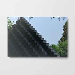 CubeCubed Metal Print