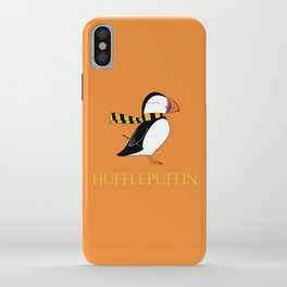 Hufflepuffin iPhone Case