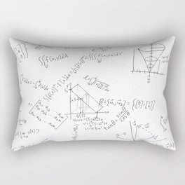 As Calculus Goes to Infinity... Rectangular Pillow