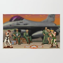Super Street Fighter Rug