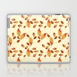 Scattered Autumn Leaves Laptop & iPad Skin