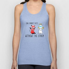 A Devil & An Angel Unisex Tank Top