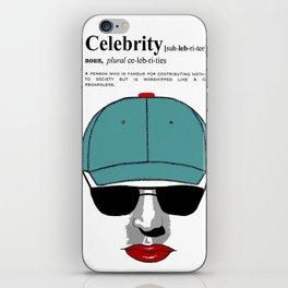 Celebrity iPhone Skin