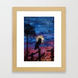 The Hours Inbetween III Framed Art Print
