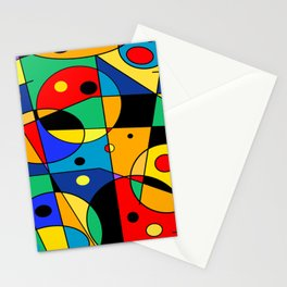 Abstract #58 Stationery Cards