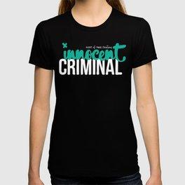 Innocent Criminal T-shirt