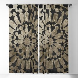 Moroccan Gold II Blackout Curtain