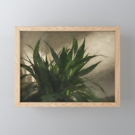 Lucky Bamboo Framed Mini Art Print