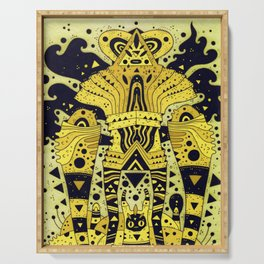 yellow fever Serving Tray