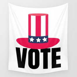 Vote USA Wall Tapestry