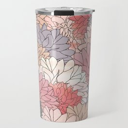 Hydrangea Haven - Muted Colors Travel Mug