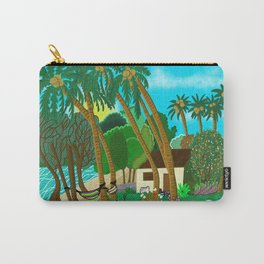 Whispering Palms Vanuatu Island Carry-All Pouch
