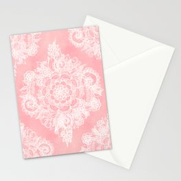 Marshmallow Lace Stationery Cards