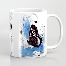 Butterfly III ink by carographic, Carolyn Mielke Mug