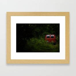 If the Boat's a-Rockin', Don't Come a-Knockin' Framed Art Print