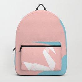 Simple origami swan Backpack