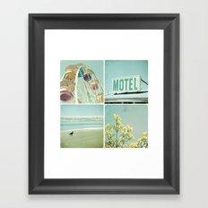 Summer Memories 1 Framed Art Print