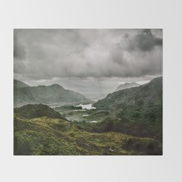 Ladies View Kerry Ireland Throw Blanket
