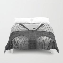 Brooklyn Bridge Cables Duvet Cover