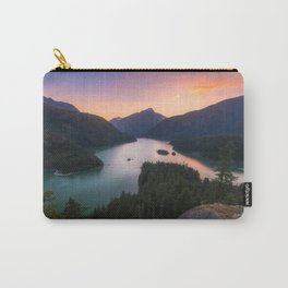 North Cascades NP Sunset Carry-All Pouch