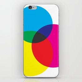CMYK Mixer iPhone Skin