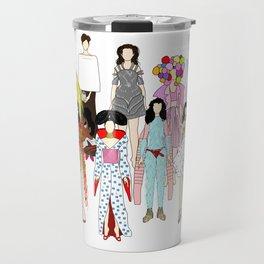 Outfits of Bjork Fashion Travel Mug