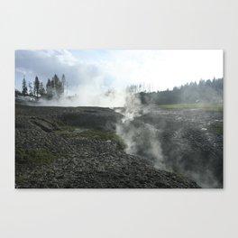 Harsh Mud Canvas Print