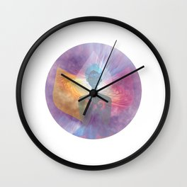 Let There Be Light Wall Clock