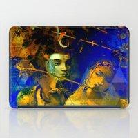 hindu iPad Cases featuring Shiva The Auspicious One - The Hindu God by sarvesh