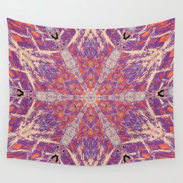 Cliffwall Hexagon Wall Tapestry