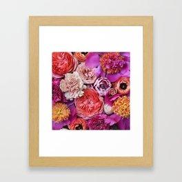 Flower Design 14 Framed Art Print