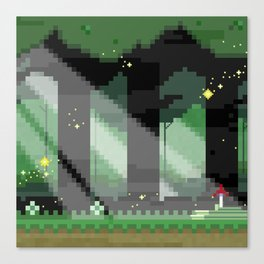 Zelda: Lost Woods Canvas Print