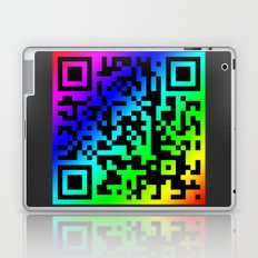 Quick Response Code Laptop & iPad Skin