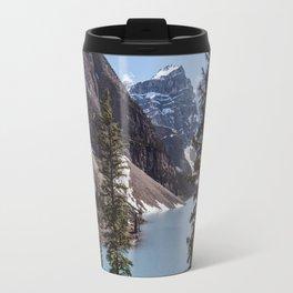 Landscape Photography Lake Moraine Canada Travel Mug