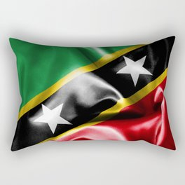 Saint Kitts and Nevis Flag Rectangular Pillow