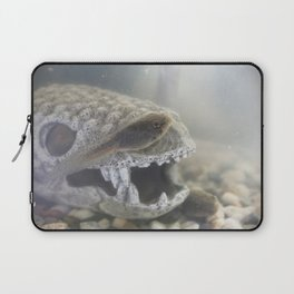 Tad and his Skull House Laptop Sleeve