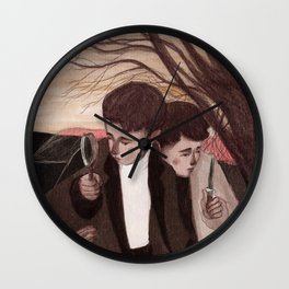The detectives Wall Clock