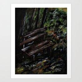Trees No4. Art Print