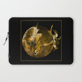 golden flower Laptop Sleeve