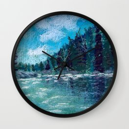 Emerald Dream Wall Clock