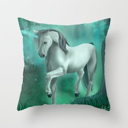 Mystical Serentiy Throw Pillow