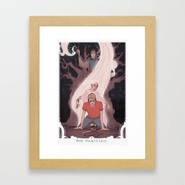 The Magician: Adam Framed Art Print