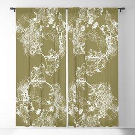 Physarum Polycephalum Blackout Curtain