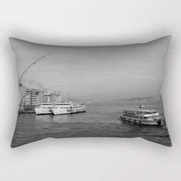 Bosphorus view from Galata Bridge Rectangular Pillow