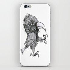 Grouchy Bird iPhone & iPod Skin