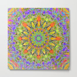 Abstract Flower AAA QQ YYY Metal Print