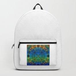 Glowing Vintage African Mandala Backpack
