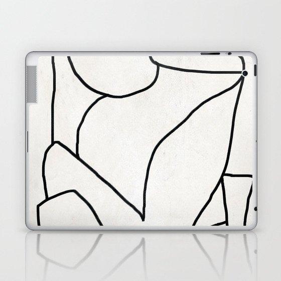 Abstract line art 2 Laptop & iPad Skin